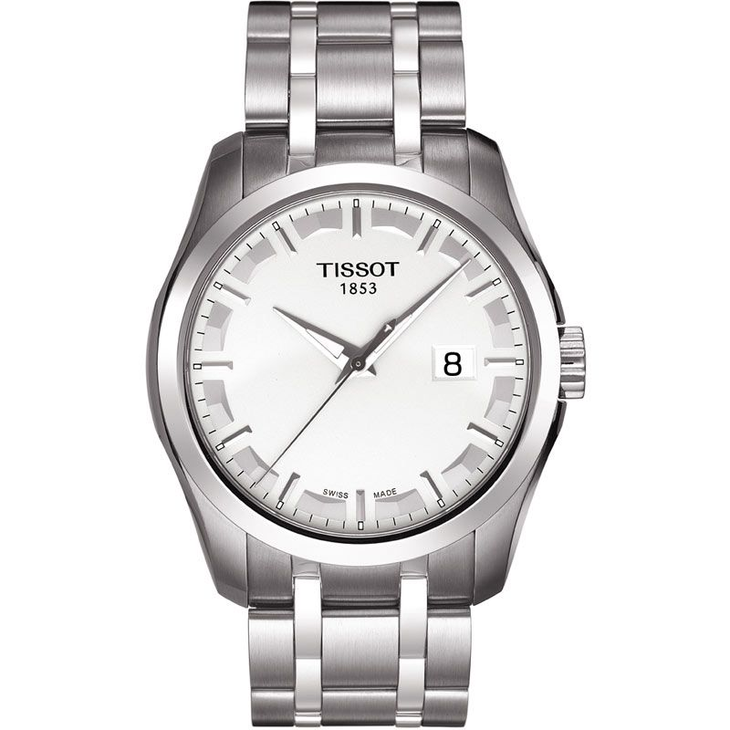 Mens Tissot Couturier Watch T0354101103100