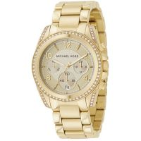 Damen Michael Kors Blair Chronograf Uhr