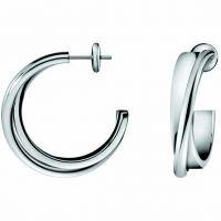 femme Calvin Klein Jewellery Coil Earrings Watch KJ63AE010100