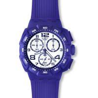 Herren Swatch Lila Funk Chronograf Uhr