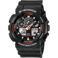 Herren Casio G-Shock Alarm Chronograph Watch GA-100-1A4ER