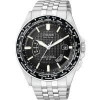 Mens Citizen World Perpetual A-T Radio Controlled Eco-Drive Watch