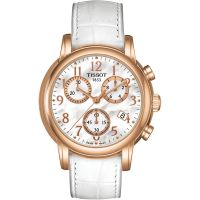 Damen Tissot Dressport Chronograph Watch T0502173611200