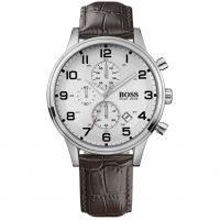 homme Hugo Boss Aeroliner Chronograph Watch 1512447