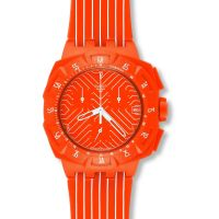 unisexe Swatch Flash Run Chronograph Watch SUIO400