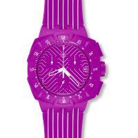 Unisex Swatch Pink Watch