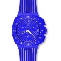 Unisex Swatch Lila Chronograf Uhr