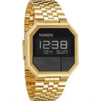 Nixon The Re-Run Unisexkronograf Guld A158-502
