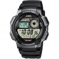 Mens Casio World Alarm Chronograph Watch