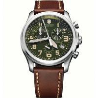 Herren Victorinox Schweizer Militär Infantry Vintage Chronograf Uhr