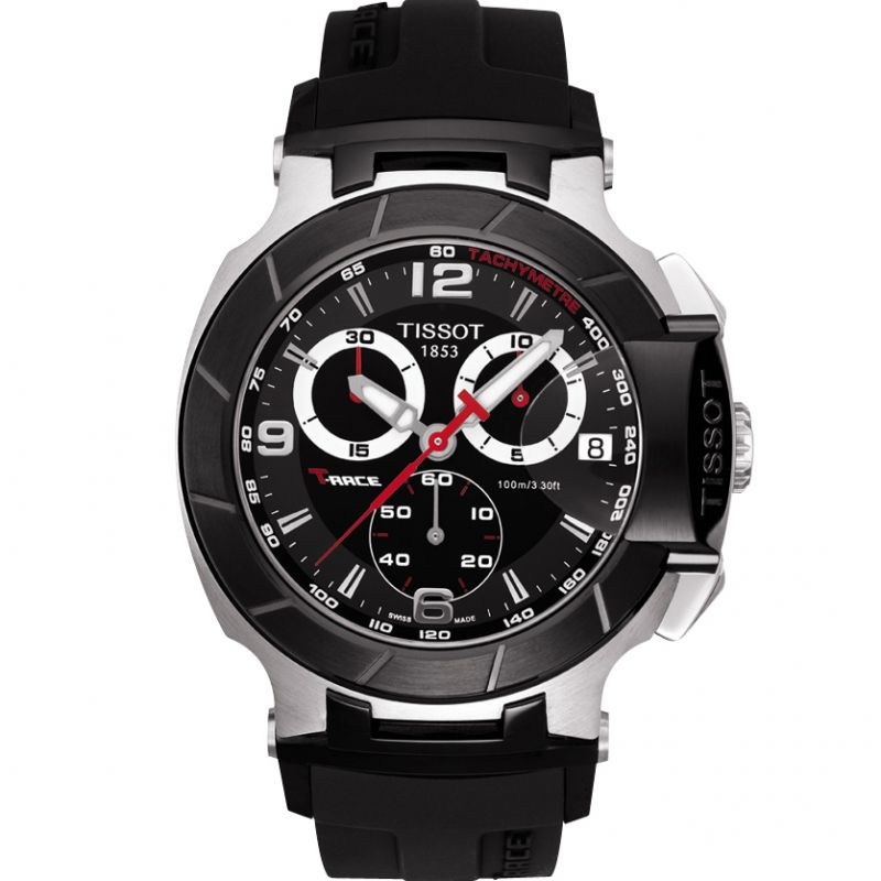 Herren Tissot T-Race Chronograph Watch T0484172705700