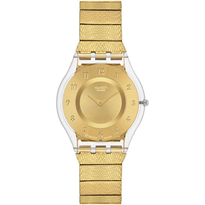 Ladies Swatch Skins Warm Glow Watch SFK355G
