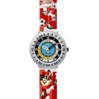 Kinder Flik Flak Looney Tunes Suisse Uhr
