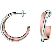 femme Calvin Klein Jewellery Coil Earrings Watch KJ63BE010100