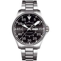 Herren Hamilton Khaki Pilot 46mm Automatik Uhr