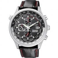 Citizen Red Arrows World Time Herenchronograaf Zwart CA0080-03E