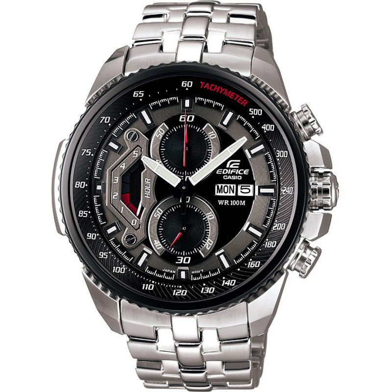 homme Casio Edifice Chronograph Watch EF-558D-1AVEF