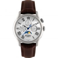 Herren Rotary Moonphase Uhr