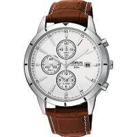 homme Lorus Alarm Chronograph Watch RF325BX9