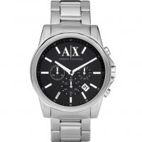 Mens Armani Exchange Chronograph Watch