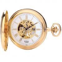 poche Royal London Half Hunter Pocket Skeleton Watch 90029-02