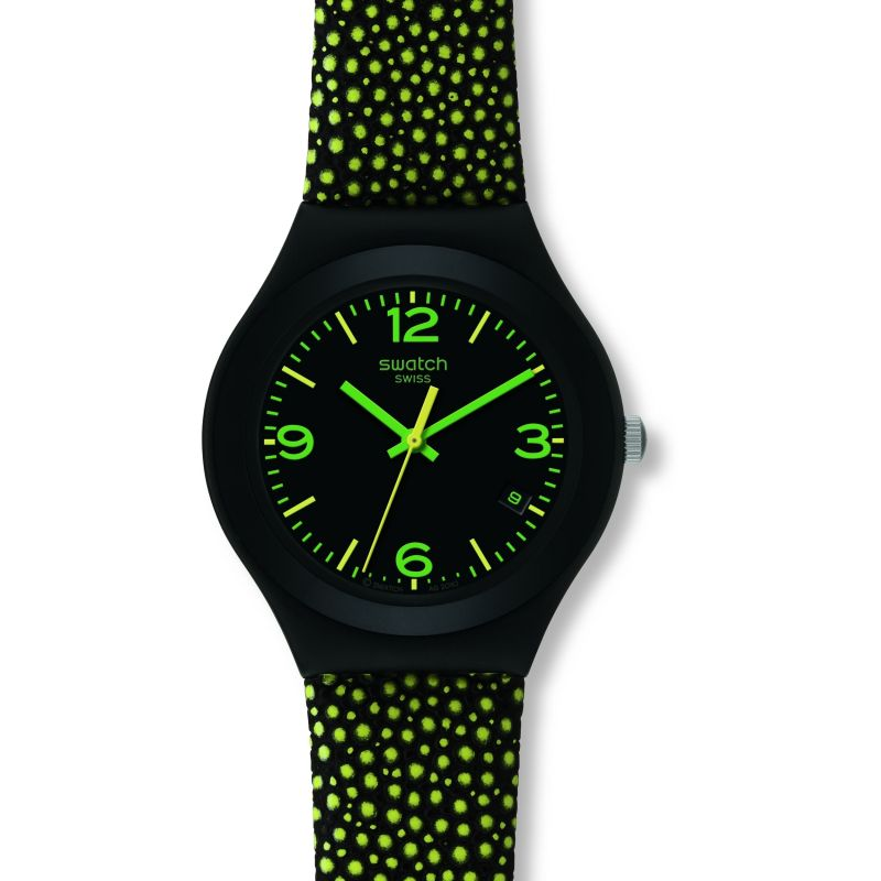 Ladies Swatch Yellow Drops Watch YGB4004