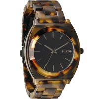 Nixon The Time Teller Acetate Unisex horloge Bruin A327-646