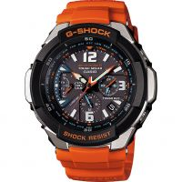 Herren Casio G-Shock Gravity Defier Alarm Chronograph Radio Controlled Watch GW-3000M-4AER