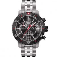 Herren Tissot PRS200 Chronograph Watch T0674172105100