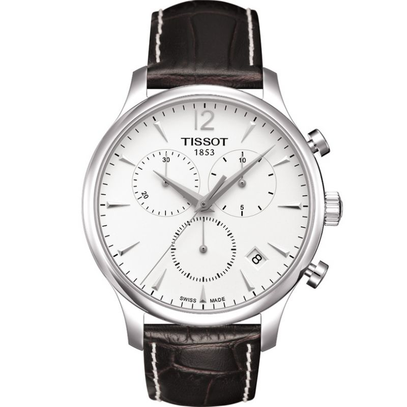 Herren Tissot Tradition Chronograph Watch T0636171603700