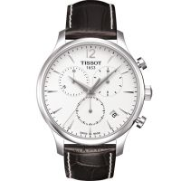 homme Tissot Tradition Chronograph Watch T0636171603700