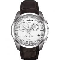 homme Tissot Couturier GMT Chronograph Watch T0354391603100