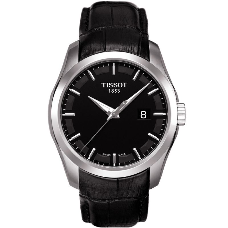 Mens Tissot Couturier Watch T0354101605100