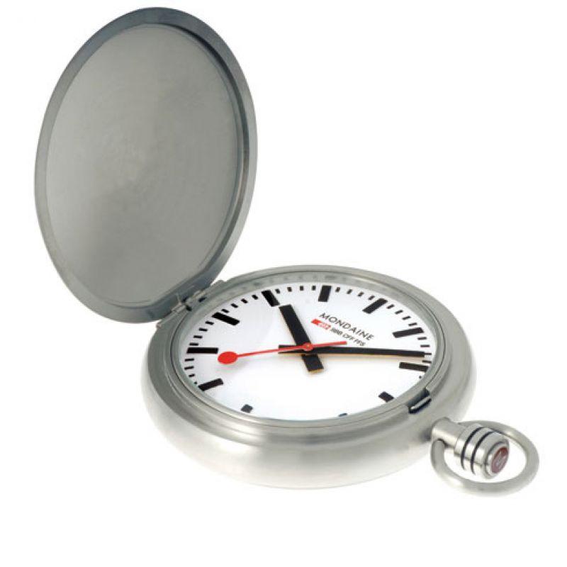 Taschenuhr Mondaine Swiss Railways Pocket Watch A6603034916SBB