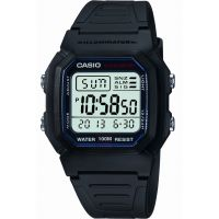 Casio Sports Gear Herenchronograaf Zwart W-800H-1AVES
