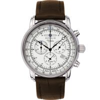 Herren Zeppelin 100 Jahre Alarm Chronograph Watch 7680-1