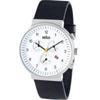 Herren Braun BN0035 Classic Chronograph Watch BN0035WHBKG