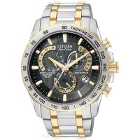 Citizen Chrono Perpetual A-T Herenchronograaf Tweetonig AT4004-52E