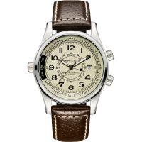 Herren Hamilton Khaki UTC Automatik Uhr
