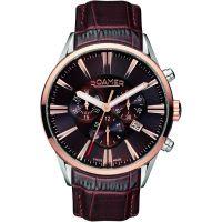 Herren Roamer Superior Chronograph Watch 508837416505