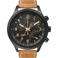 homme Timex Indiglo Intelligent Quartz Chronograph Watch T2N700