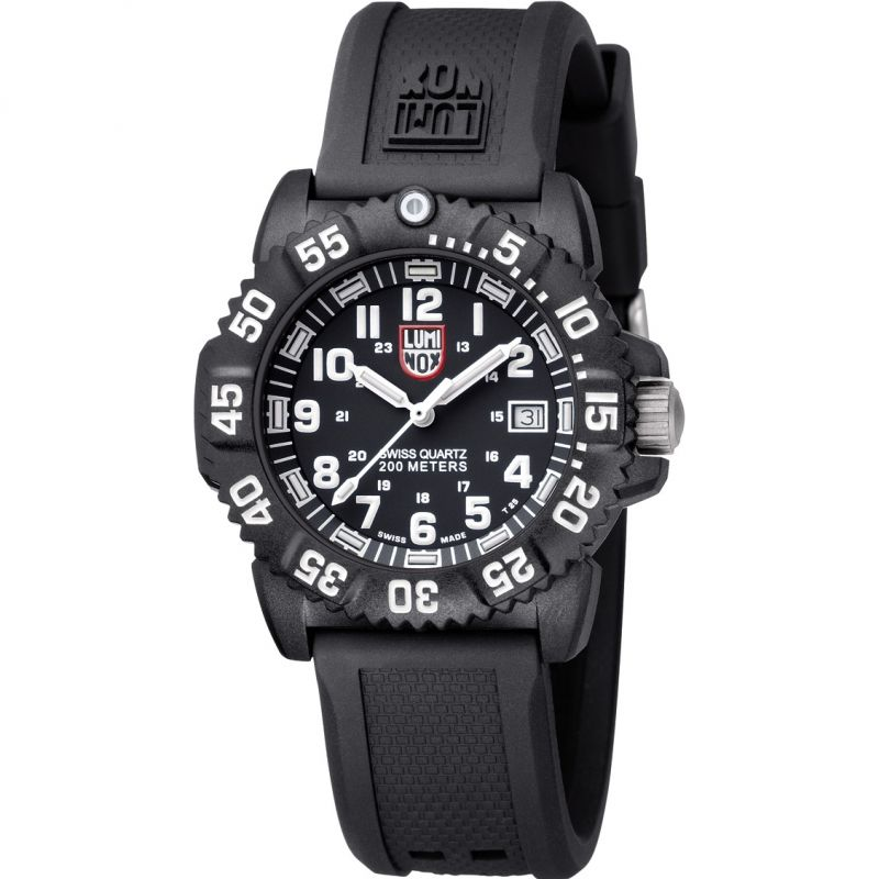 Unisex Luminox Navy Seal Colormark 7050 Series 38mm Watch A7051