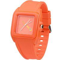 Unisex Breo Würfel Orange Uhr