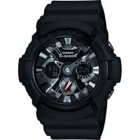 Herren Casio G-Shock Alarm Chronograph Watch GA-201-1AER