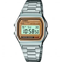 Unisex Casio klassisch Wecker Chronograf Uhr