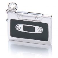 Ladies Royal London Sterling Silver Tape Charm