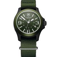 Herren Victorinox Schweizer Militär Original Uhr