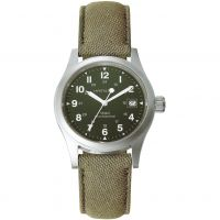 Mens Hamilton Khaki Officer Mechanical Watch