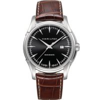 Hamilton Jazzmaster Viewmatic 44mm Herenhorloge Bruin H32715531