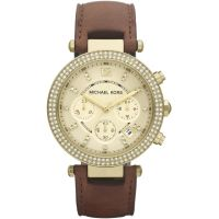 Ladies Michael Kors Parker Chronograph Watch
